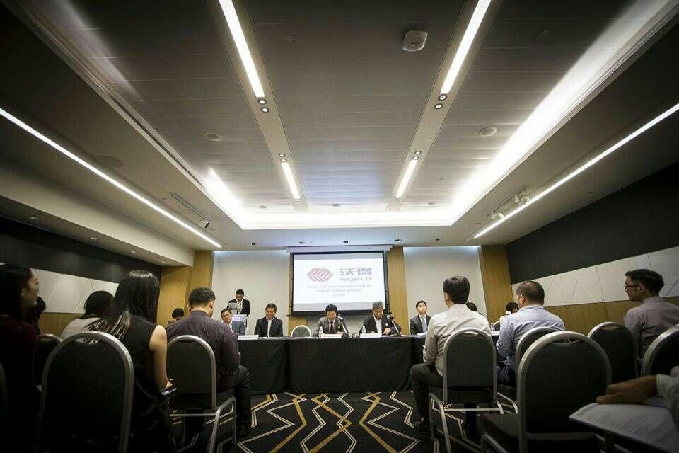 沃得精机2014年年度股东大会在新加坡顺利召开